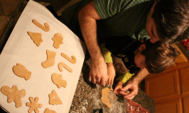 Receita de gingerbread cookies da Disney