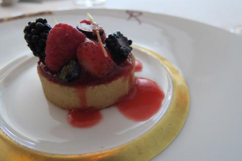 Uma das sobremesas da Dessert Experience no Remy