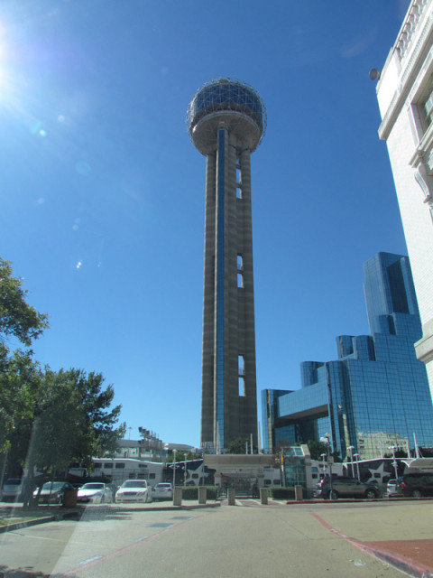 Reunion Tower em Dallas