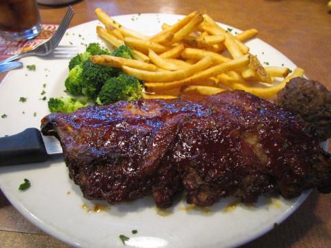Verdadeiro churrasco com ribs