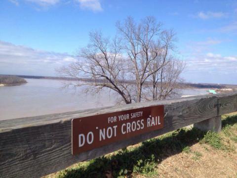 O famoso Rio Mississippi