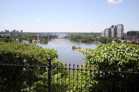O rio Ottawa