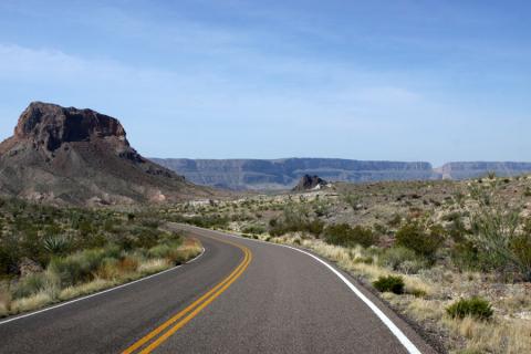 Ross Maxwell Scenic Drive: vale a pena dirigir por aqui