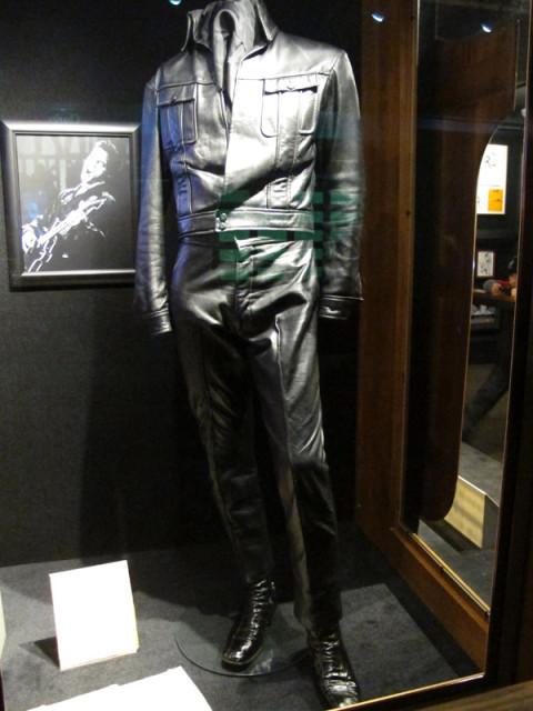 Uma das roupas usadas por Elvis em filmes