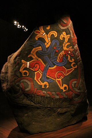 Runa viking no Nationalmuseet