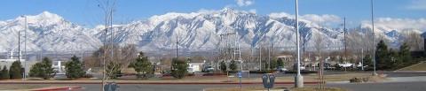 Wasatch Mountains em Salt Lake City
