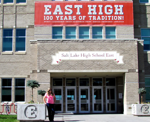 Salt Lake High School East, onde foi filmado High School Musical da Disney