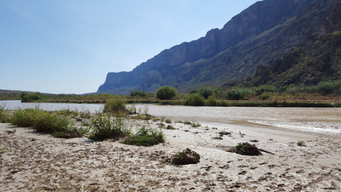 Santa Elena Canyon, no extremo oeste do Big Bend National Park