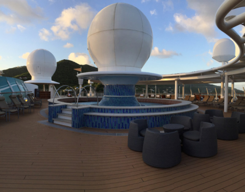 Satellite Falls no Disney Fantasy