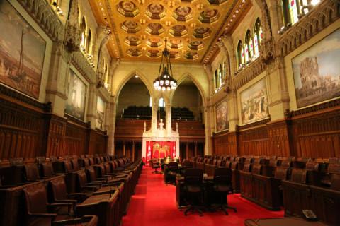O Senado canadense