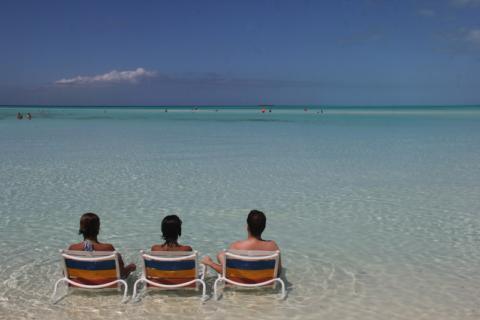 Serenity Bay com os amigos