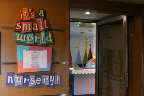 A creche, It's a Small World Nursery - não pude entrar pra conhecer, eles tem apenas um open house no dia de embarque