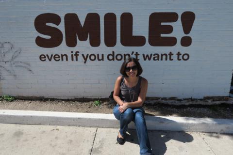 Smile...e vá comer um cupcake!