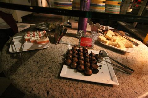 Pedacinho do buffet de sobremesas