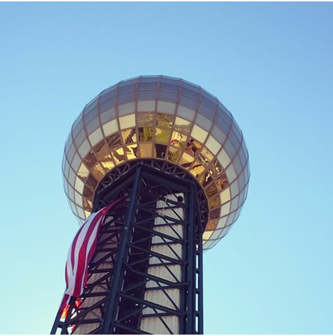 Sunsphere em Knoxville