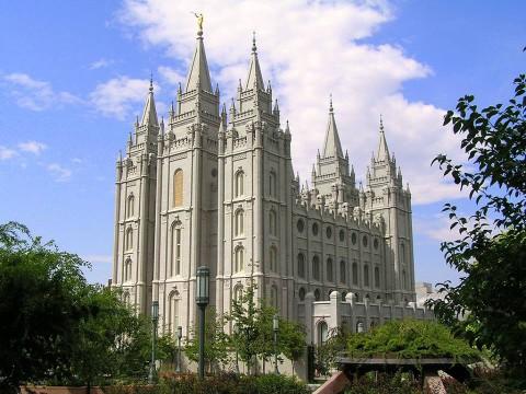 Templo de Salt Lake City no Temple Square