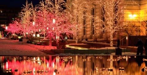 Temple Square no Natal