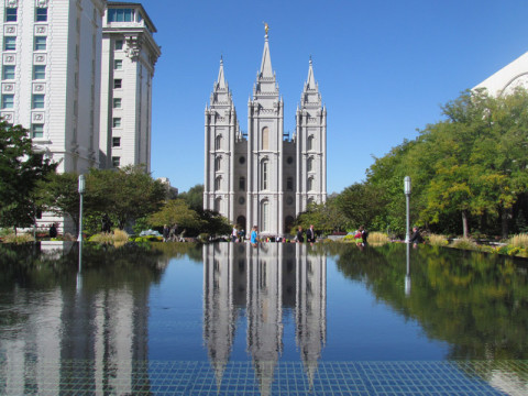 Temple Square, lindo