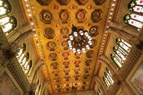 O teto do Senado é lindo, não acham?