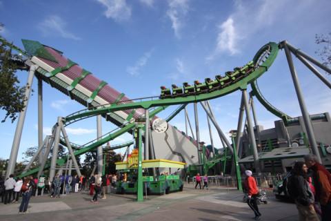 A montanha-russa do Hulk, essa ficou pra próxima
