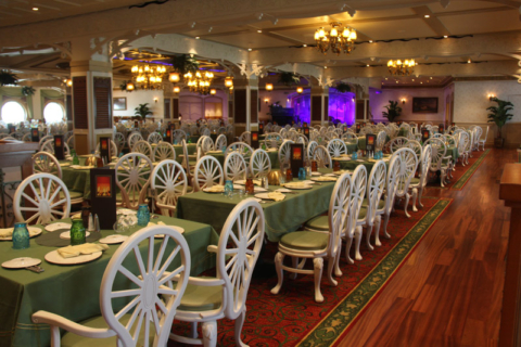 Novo restaurante Tiana's Place no Disney Wonder reimaginado