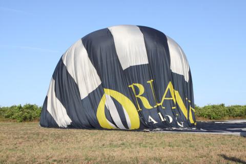 Tirando o ar do balão