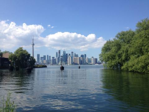 Toronto vista de Centre Island