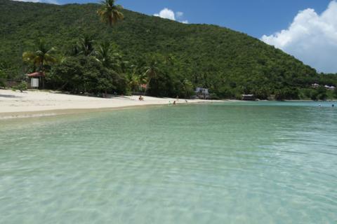 Cane Garden Bay, em Tortola
