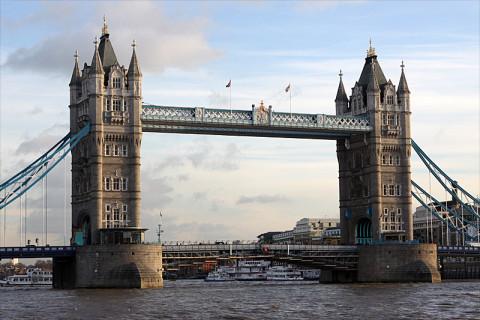 A famosa Tower Bridge