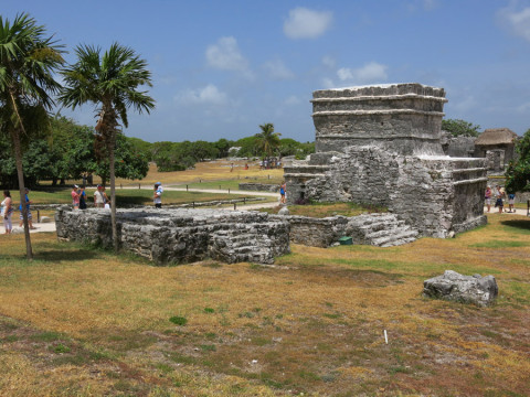 As ruínas de Tulum