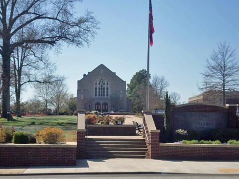 Universidade de Ozarks, em Clarksville