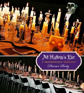 Velas na decoração de Halloween
