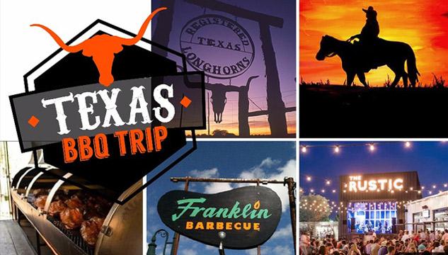 Grupo de viagem Texas BBQ