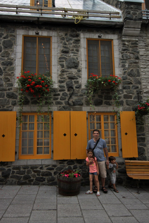 Casinhas fofas da Vieux Quebéc