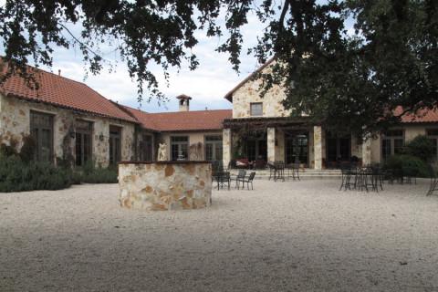 Uma das vinícolas que visitamos aqui no Texas