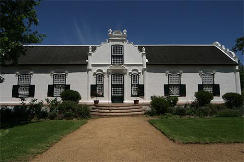 Boschendal, uma das vinículas nos arredores de Cape Town
