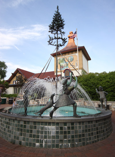 O centro de visitantes de Frankenmuth (Visitor Center)