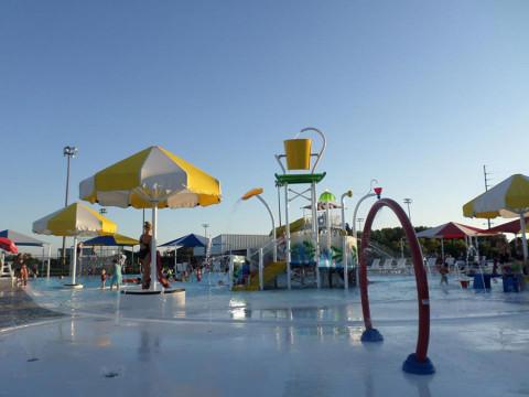 O parque aquático que frequentamos