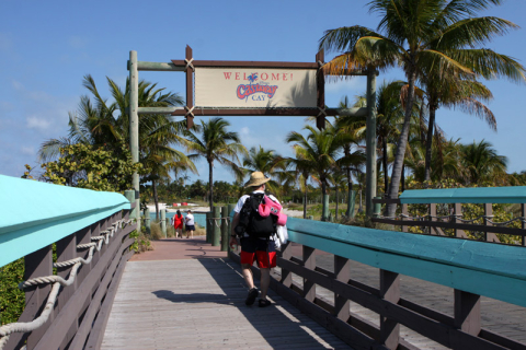 Welcome to Castaway Cay, o paraíso