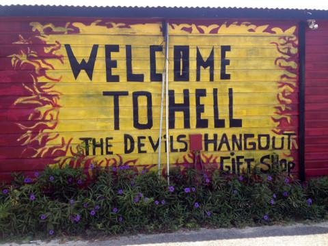 Welcome to Hell: inferno e paraíso na mesma ilha