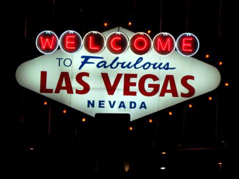 Chegando em Las Vegas!