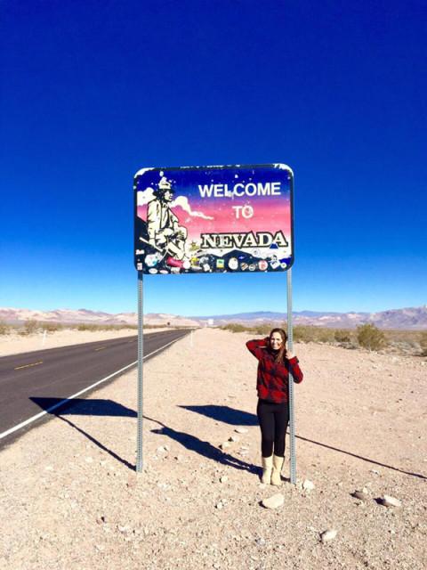 Chegando a Nevada