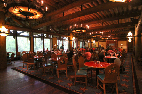 O restaurante Whispering Canyon