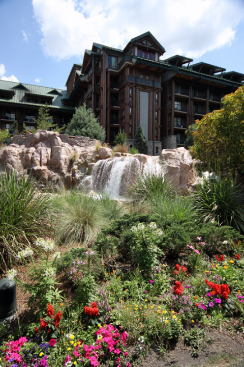 Disney Wilderness Lodge na primavera