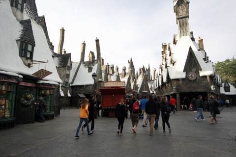 Wizarding World of Harry Potter: Hogsmeade no Islands of Adventure