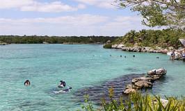 Xel-ha e Playa del Carmen, na Riviera Maia
