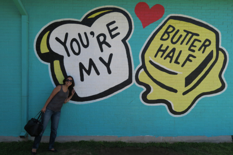You're my butter half
