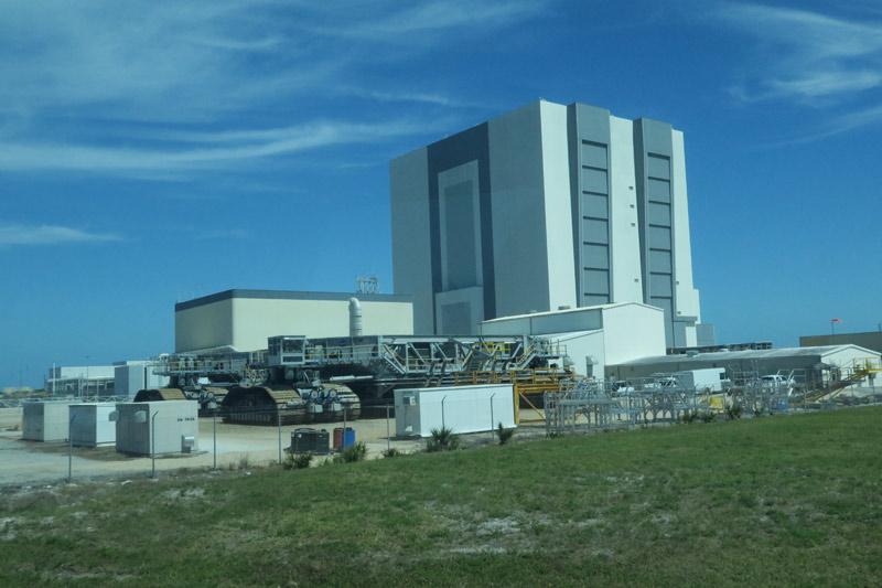 Vehicle Assembly Building, um dos prédios mais importantes do complexo da NASA em Cabo Canaveral