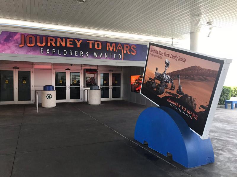 Journey to Mars, exposição sobre a exploração de Marte