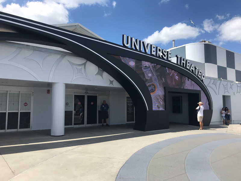 Universe Theater no Kennedy Space Center